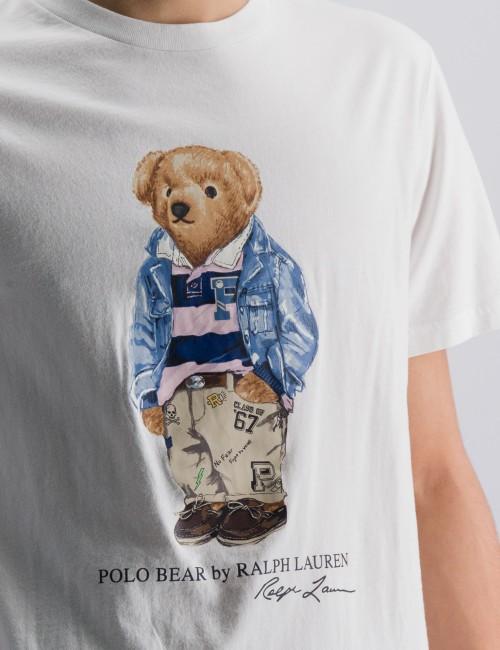 Ralph Lauren barnkläder - Preppy Bear Cotton Jersey Tee