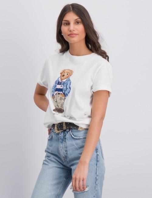 Ralph Lauren - Preppy Bear Cotton Jersey Tee