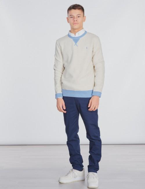Ralph Lauren barnkläder - LONG SLEEVE TEXTURED-TOPS-SWEATER