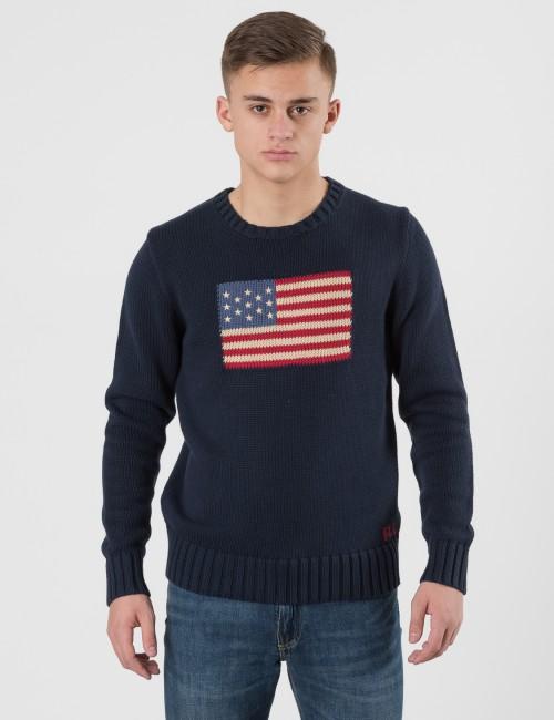 Ralph Lauren - FLAG CN SWEAT