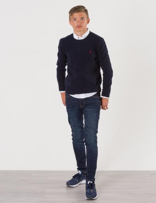 Ralph Lauren barnkläder - CABLE CREWNECK SWEATER