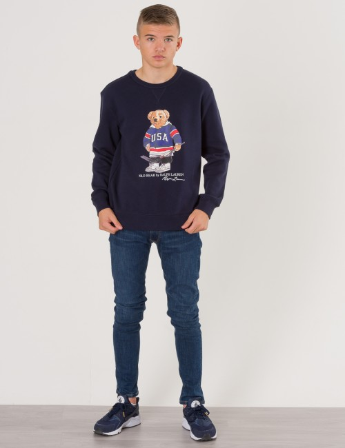 Ralph Lauren barnkläder - BEAR CREW NECK