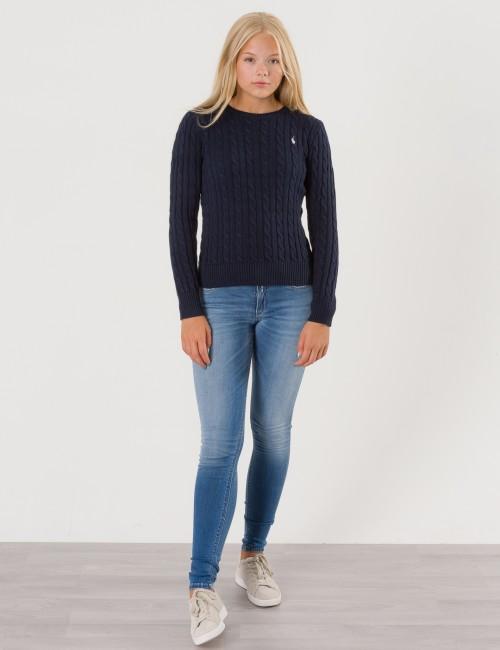 Ralph Lauren barnkläder - CABLE CREW NECK