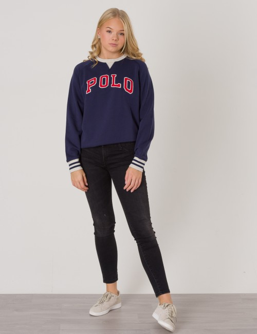 Ralph Lauren barnkläder - LONG SLEEVE CREWNECK POLO