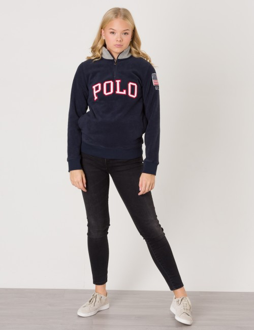 Ralph Lauren - LS HALF ZIP SWEAT