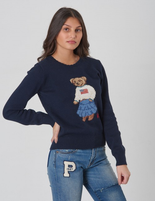 Ralph Lauren barnkläder - ICONIC BEAR-TOPS-SWEATER