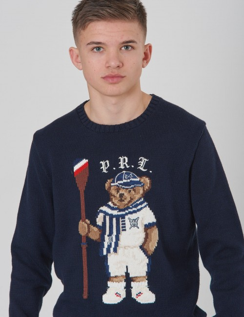 Ralph Lauren - BEAR CN SWTR-TOPS-SWEATER