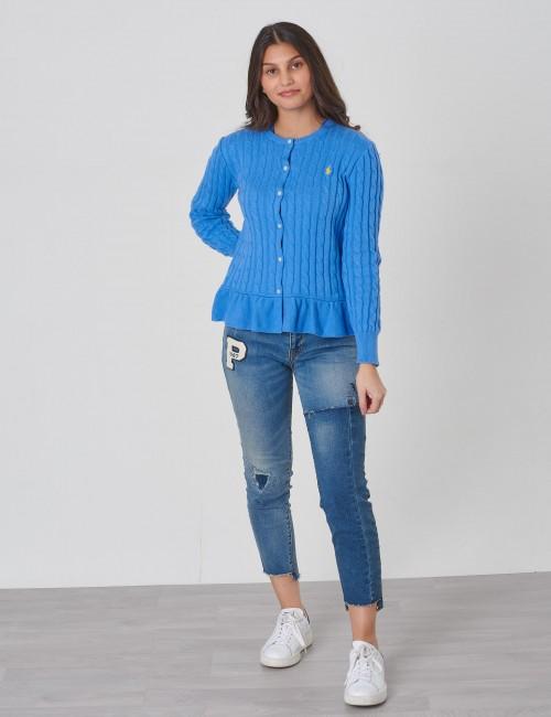 Ralph Lauren barnkläder - PEPLUM CARDI-TOPS-SWEATER