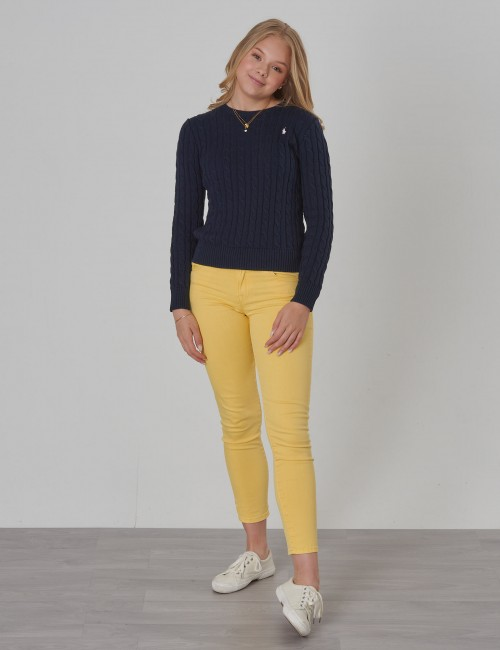 Ralph Lauren - CABLE CN-TOPS-SWEATER