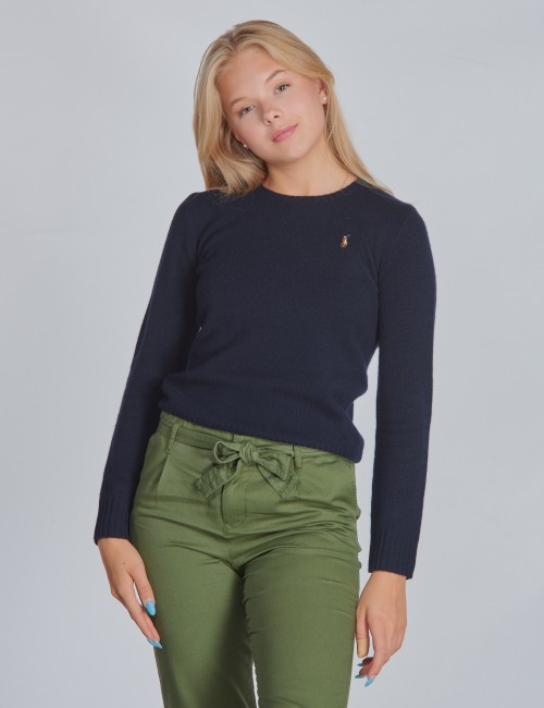 Ralph Lauren barnkläder - WOOL CREW-TOPS-SWEATER
