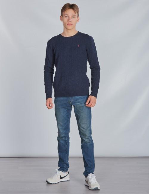 Ralph Lauren barnkläder - LS CABLE CN-TOPS-SWEATER