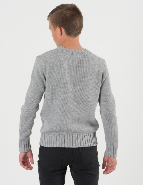 Ralph Lauren barnkläder - FLAG CREW NECK SWEATER