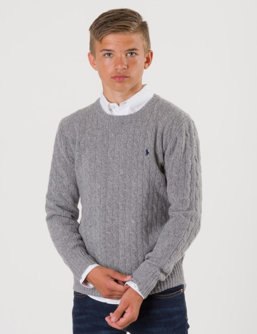 Ralph Lauren barnkläder - CABLE CREWNECK SWEATER