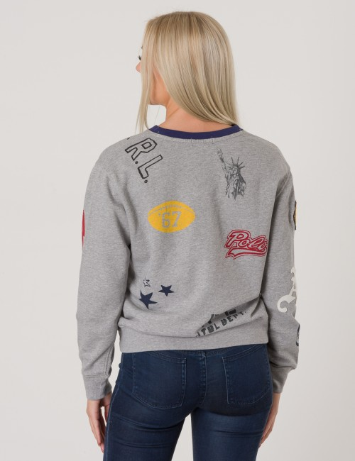 Ralph Lauren barnkläder - NOVEL CREW NECK