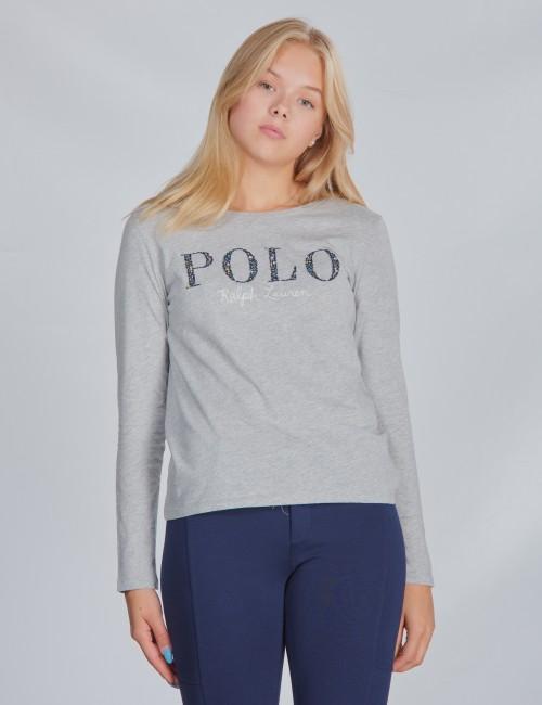 Ralph Lauren barnkläder - LS POLO TEE-TOPS-KNIT