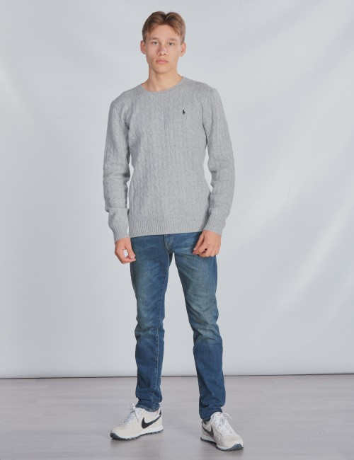 Ralph Lauren barnkläder - LS CABLE CN-TOPS-SWEATER