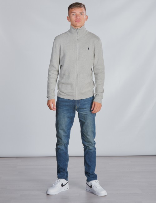 Ralph Lauren - LS FZ-TOPS-SWEATER
