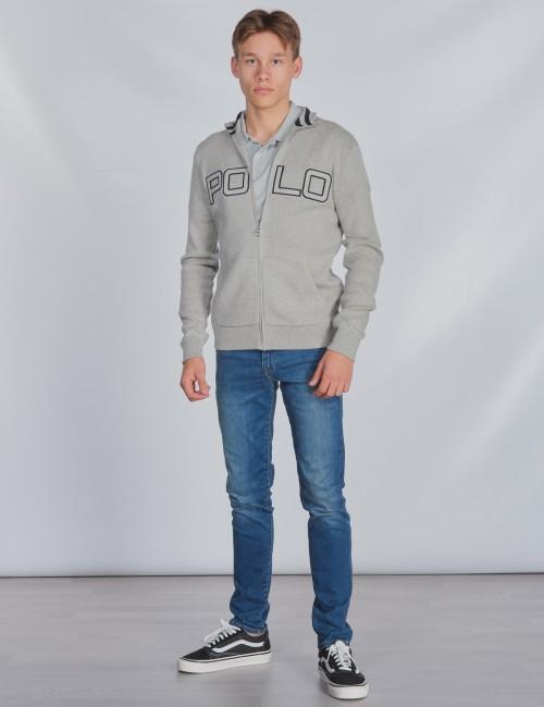 Ralph Lauren barnkläder - LS POLO FZ-TOPS-SWEATER