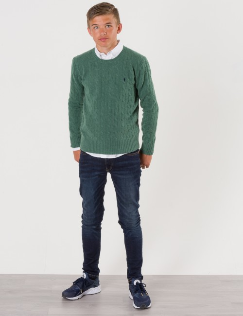 Ralph Lauren - CABLE CREWNECK SWEATER
