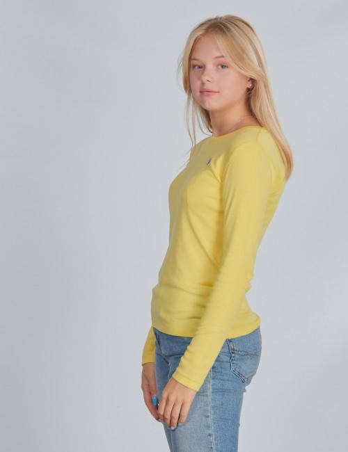 Ralph Lauren barnkläder - LS CN TEE-TOPS-KNIT