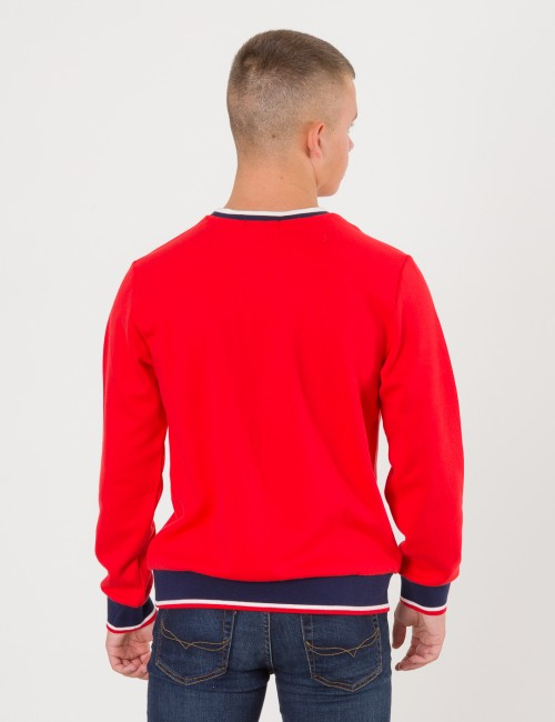 Ralph Lauren barnkläder - NOVEL CREW NECK SWEATER