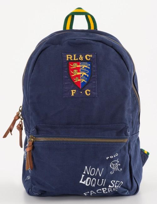 Ralph Lauren barnkläder - NAVY POLO BACKPACK