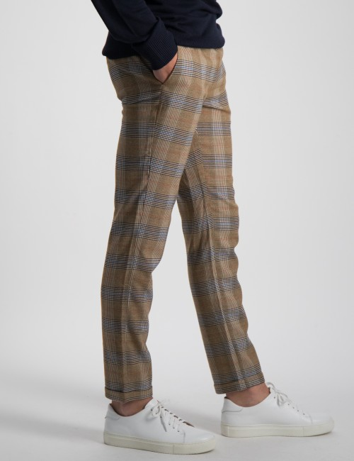 RELAXED SLIM FIT- CNeck pants