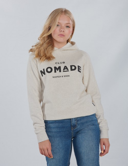Scotch & Soda barnkläder - Club Nomade Signature Hoody