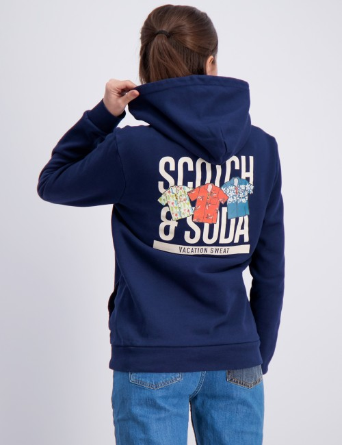 Scotch & Soda barnkläder - Hoody with artwork
