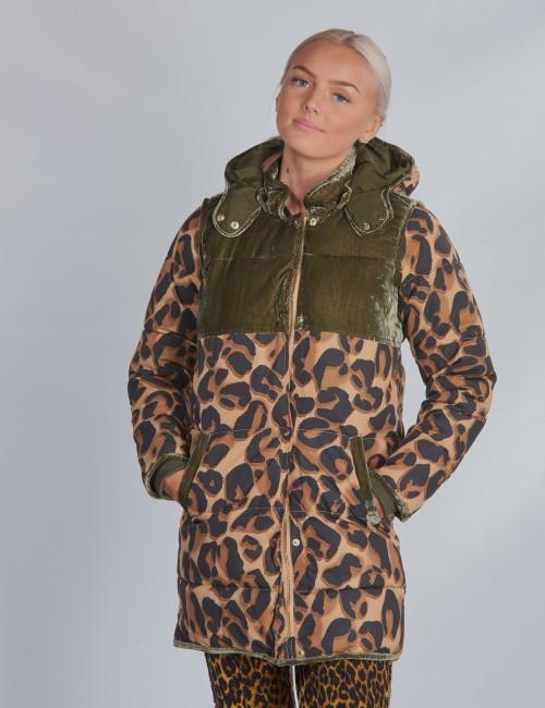 Longer length padded jacket