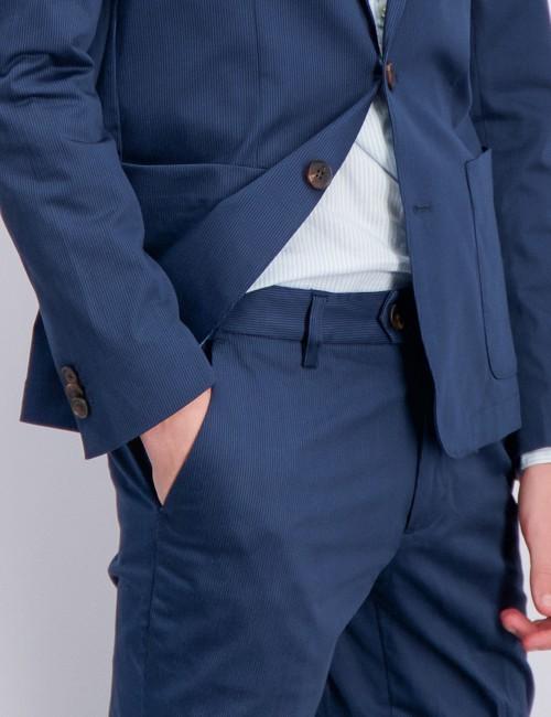 Scotch & Soda barnkläder - Suit with subtle yarn dyed stripe
