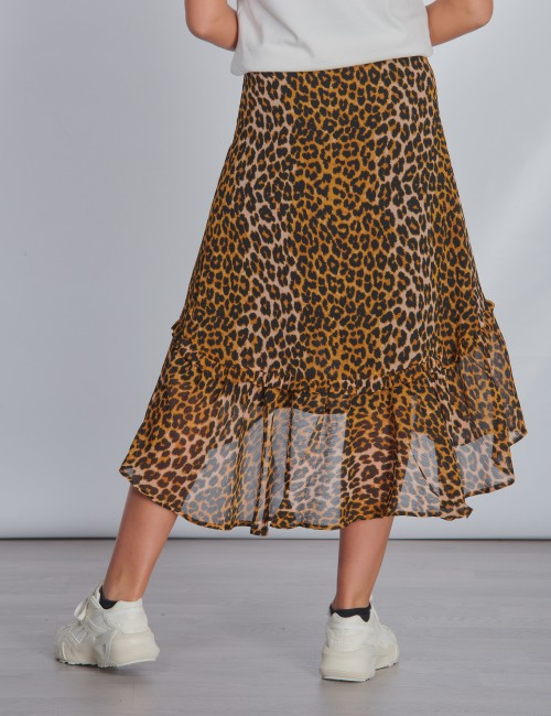 Scotch & Soda barnkläder - All-over printed maxi wrap skirt