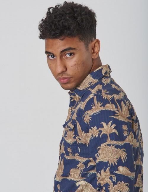 Scotch & Soda barnkläder - REGULAR FIT Bonded shirt