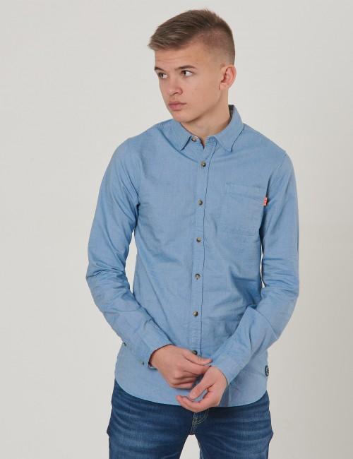 Scotch & Soda barnkläder - Slim fit oxford shirt