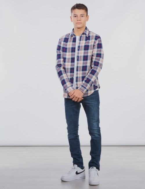 Scotch & Soda - Easy shirt in flannel