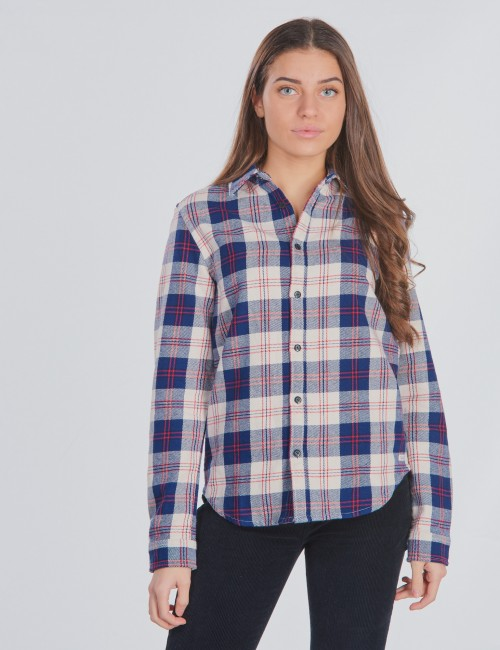 Scotch & Soda barnkläder - Easy shirt in flannel