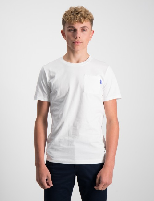 Scotch & Soda barnkläder - Fabric dyed pocket tee