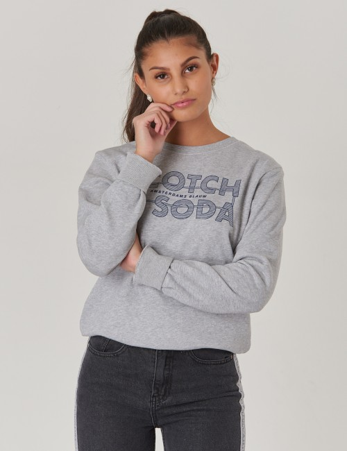 Scotch & Soda barnkläder - Crew Neck Sweat