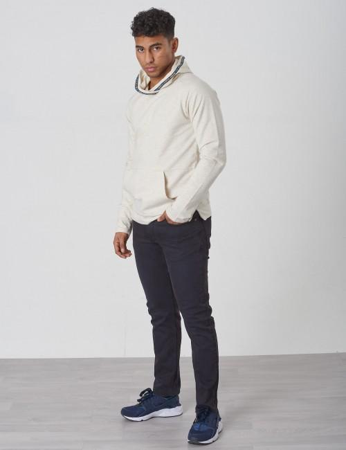 Scotch & Soda barnkläder - Lightweight twisted hood with back artwork