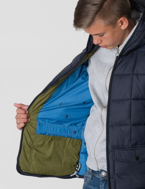 Scotch & Soda - SQUARE QUILTED PADDED JACKET