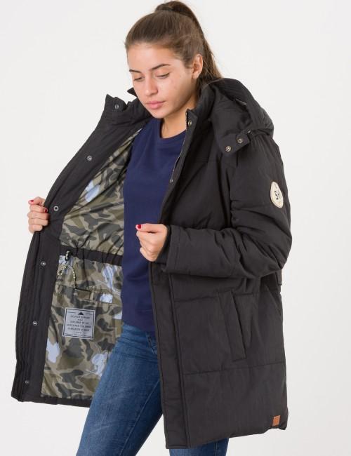 Padded jacket oversized