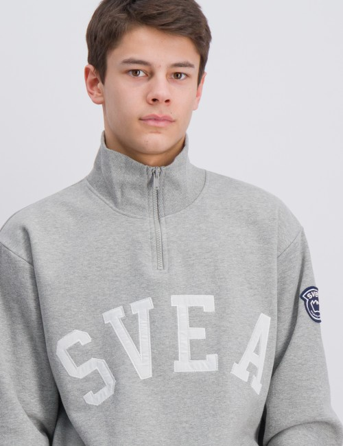 Svea - Half Zip Logo Sweat