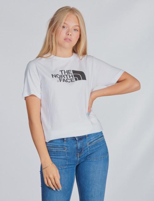 The North Face, Y S/S EASY TEE, Vit, T-shirt/Linnen till Tjej, S