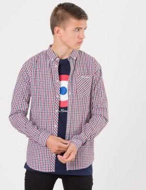 LS House Check Poplin Shirt