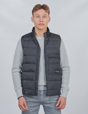RECYCLED LIGHT DOWN VEST