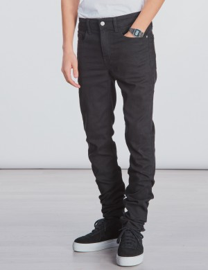 SKINNY SUST BLACK STRETCH