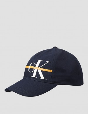 MONOGRAM STRIPE CAP