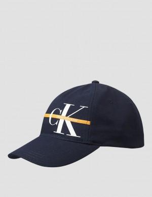 MONOGRAM STRIPE CAP