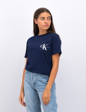 MONOGRAM POCKET TOP