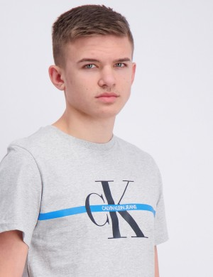 MONOGRAM STRIPE T-SHIRT